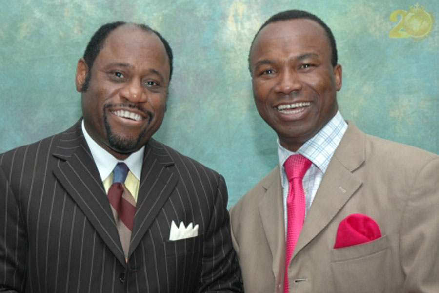 Myles Munroe and Sunday Adelaja