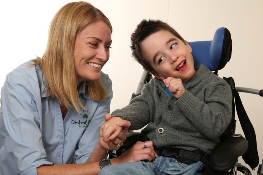 Raised a boy with cerebral palsy
