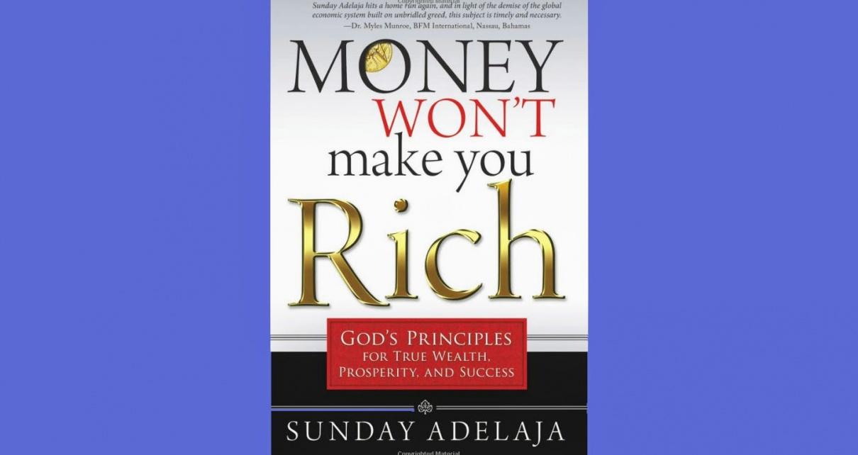Book Money Wont Make You Rich