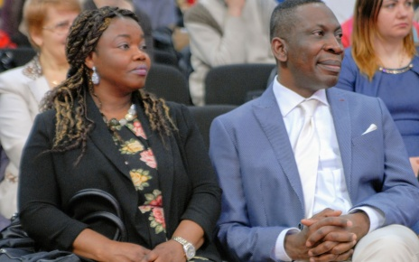 Pastor Tope Omotoye with wife