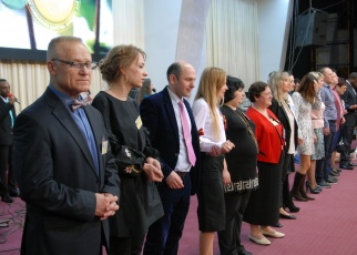 rdaining new ministers and pastors