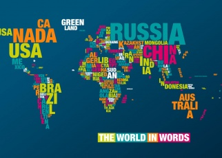 The world in words