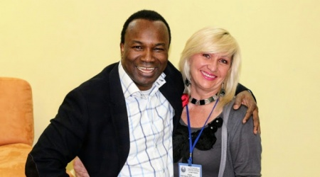 Pastor Sunday Adelaja with Tatyana Shuraits