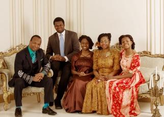 The Adelaja family